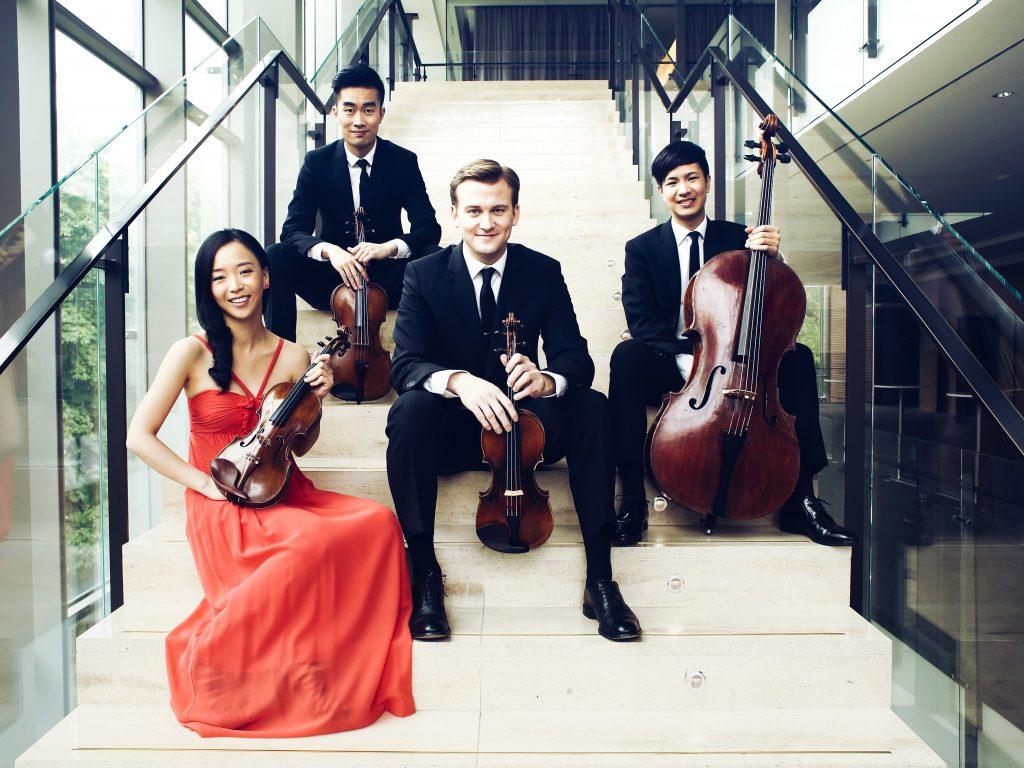Rolston Quartet, Tianxiao Zhang Photography