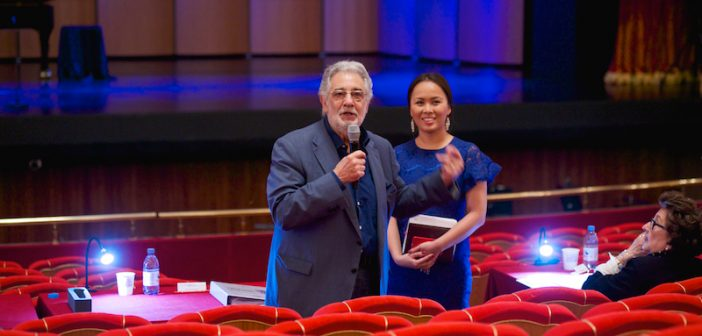 The Victory Is Close For The 14 finalists of Placido Domingo's Operalia