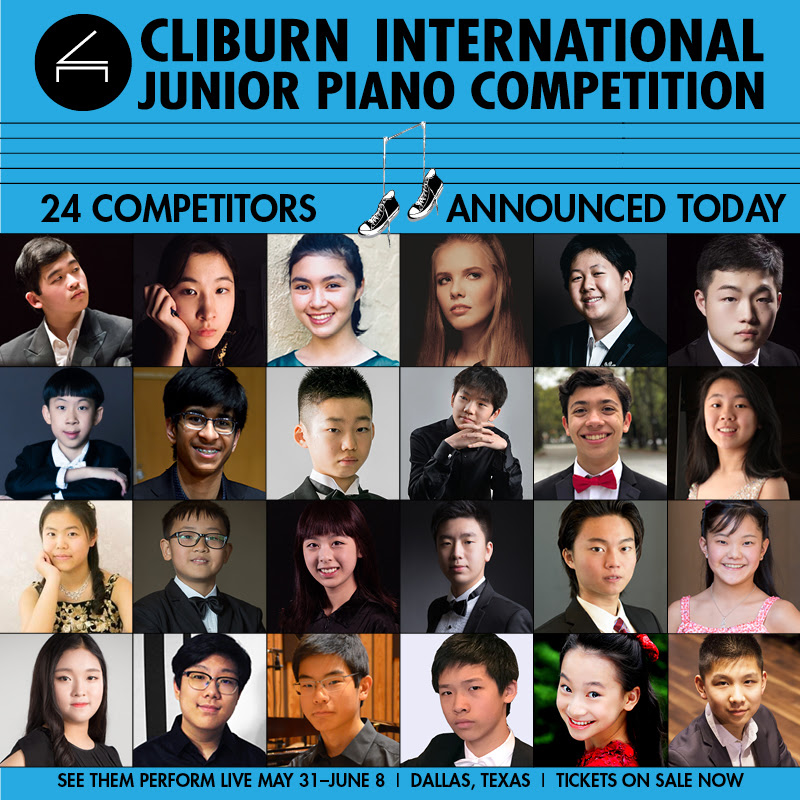 Three Canadians to Take Part in 2019 Cliburn International